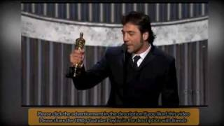 Javier Bardem wins Oscar for Best Supporting Actor-Extended video