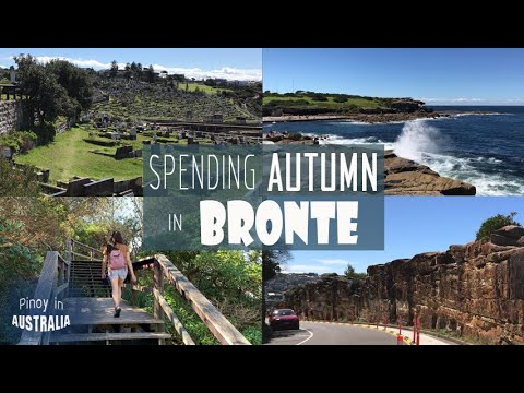 SPENDING AUTUMN IN BRONTE : Exploring Bronte beach, Waverly Cemetery, and Nelson Bay here in Sydney
