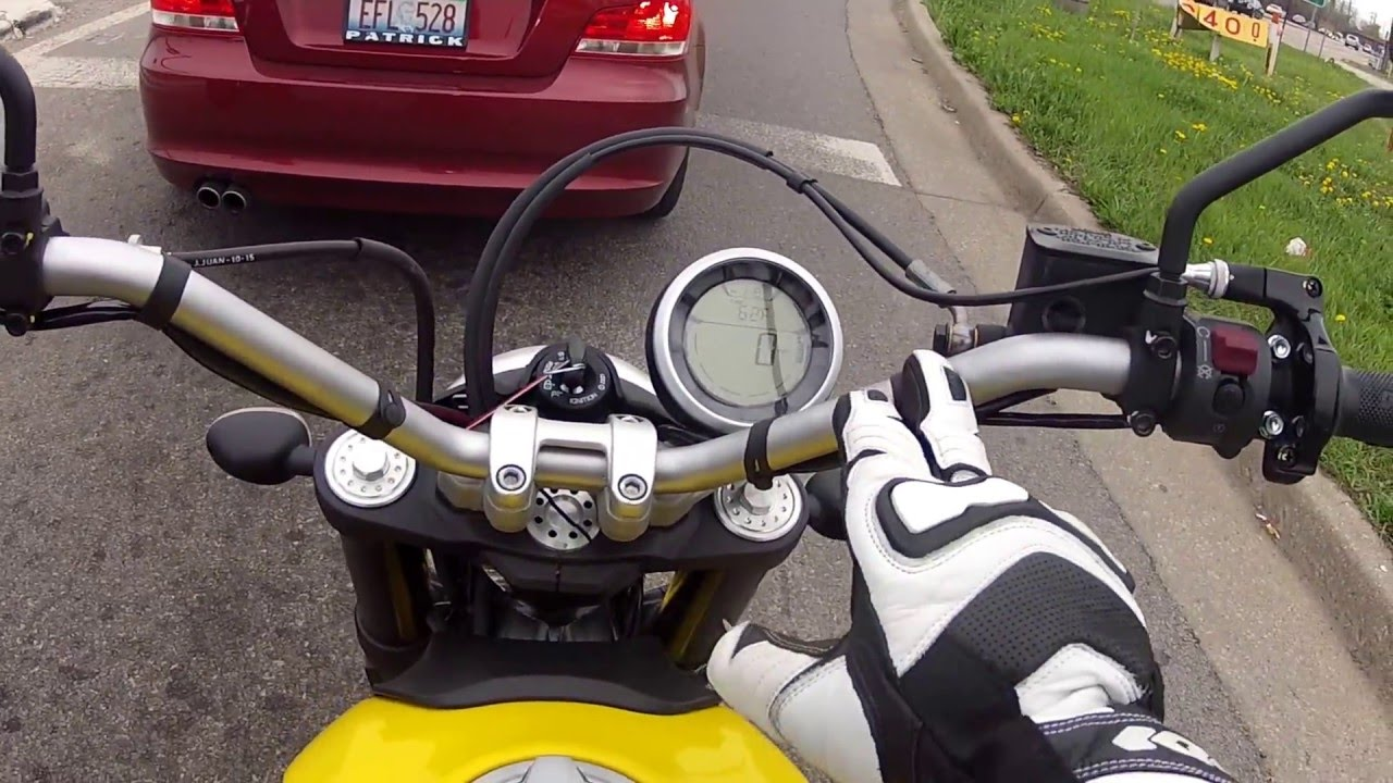 2016 Ducati Scrambler Icon 800 And Monster 821 Review Take 1 Fail
