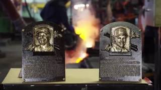 MLB Network: Making of the Griffey & Piazza National Baseball Hall of Fame plaques