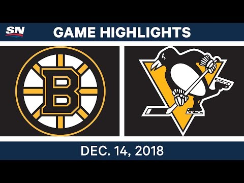 NHL Highlights | Bruins vs. Penguins - Dec 14, 2018