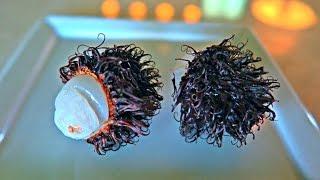 Rambutan Fruit or Hairy Fruit Taste Test