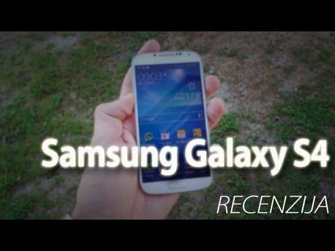 Samsung Galaxy S4 Video Recenzija