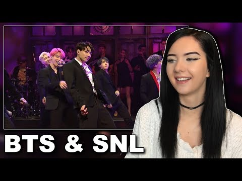 Reacting To BTS On SNL Boy With Luv Performance // itsgeorginaokay