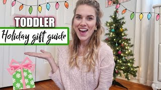 Gift Guide For Toddlers 🎁 What We Bought Our 3 Year Old For Christmas 🎄