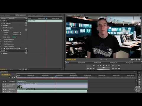 Using Ultra Key In Adobe Premiere Pro