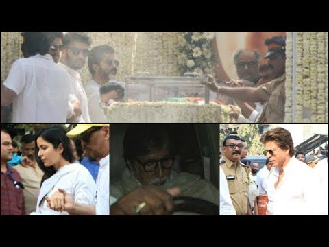 Sridevi funeral: Bollywood bids farewell to the legend