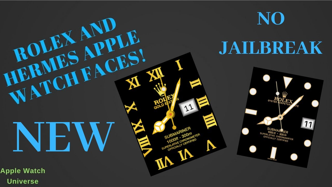 NEW* How to Get Rolex Apple Watch Faces