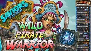 Wild Pirate Warrior Deck   Saviors of Uldum   Hearthstone