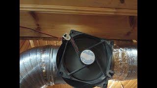 Наше воздушное отопление. Модель - Горыныч