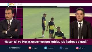 """""""Fenerbahçe'de Isla, derbi kadrosunda olacak mı?"""" (Futbol Net 25 Eylül 2019)"""