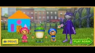 Team UmiZoomi Catch That Shape Bandit - Game