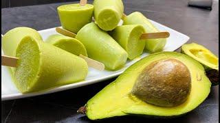 helados de aguacate muy ricos y cremosos - como hacer helados caseros de aguacate - rosita cocina