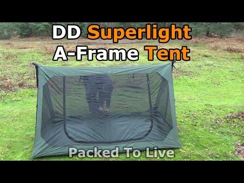 Superlight A-Frame Mesh Tent from DD Hammocks