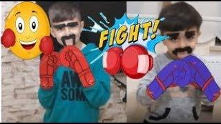 rocky 1 rocky 2 ye karşı  rüzgar  vs kaan boks maçı 1. raund matrak komedi