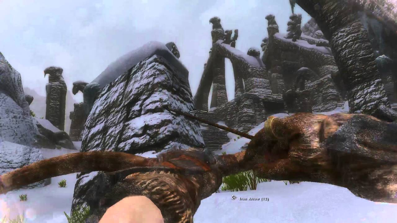 Skyrim mod testing WICO, Men of Winter, Bijin's and Inhabitants of Skyrim