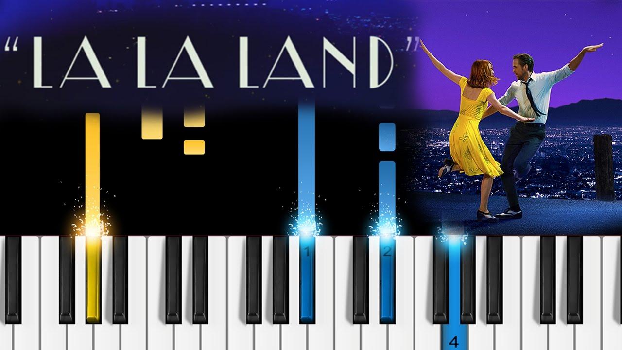 City Of Stars La La Land Soundtrack Piano Tutorial How To Play City Of Stars On Piano Youtube