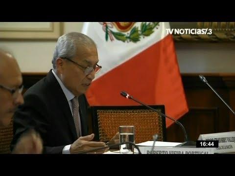 Pedro Chávarry pide a José Domingo Pérez información de 13 casos
