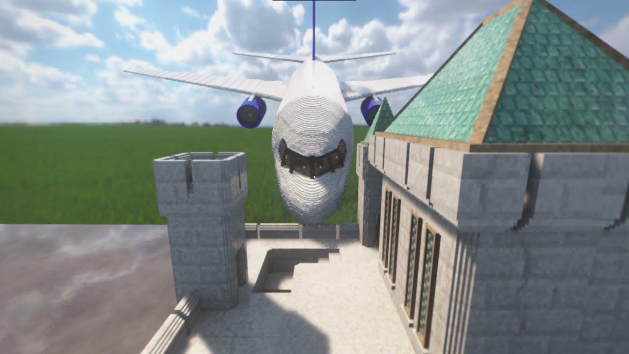 ADVG - TEARDOWN - Flying Plane Into A Castle !!