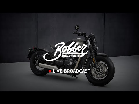 New Bonneville Bobber -  Reveal