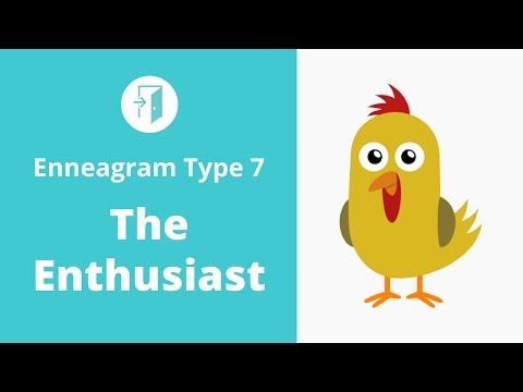 Enneagram Type 7 - The Enthusiast