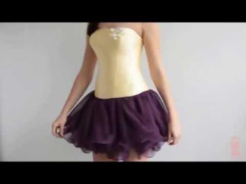 Как шить юбку из шифона пышную