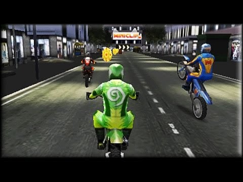 Motocross Urban Fever - Game Walkthrough (all 1-9 races)