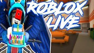 🔴 ROBLOX LIVE! Amichevole per la famiglia VIP SERVER JAILBREAK GRIND CON GGPARMY!!! | Buon compleanno Roblox!