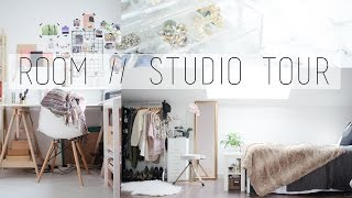 One of Minnie Small's most viewed videos: ROOM // STUDIO TOUR