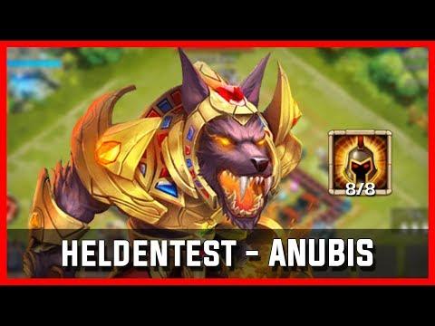 Heldentest - Anubis 8/8 KG (Welle T Solo?!) ♦ Castle Clash