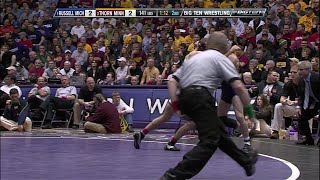 Big Ten Rewind - 2011 Championships - 149 lbs - Michigan's Kellen Russell vs. Minnesota's Mike Thorn