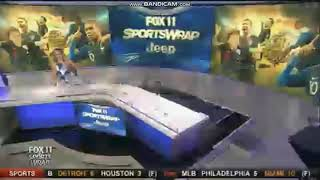 "Video KTTV Fox 11 ""Sports Wrap"" open July 15, 2018 download MP3, 3GP, MP4, WEBM, AVI, FLV Juli 2018"