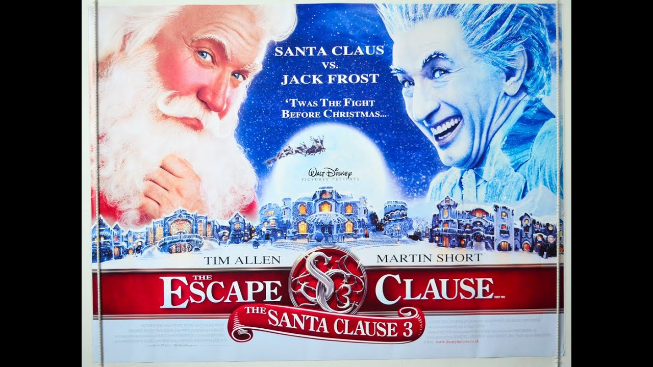 The Santa Clause 3: The Escape Clause - Christmas Review ...