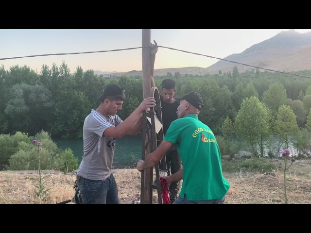 214 - Providing shelter and other support for shepherds in Chalik after Turkish airstrikes