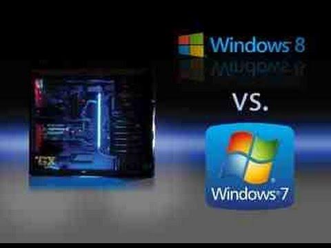 Windows 7 Vs Windows 8 1 Gaming Performance 60fps Youtube