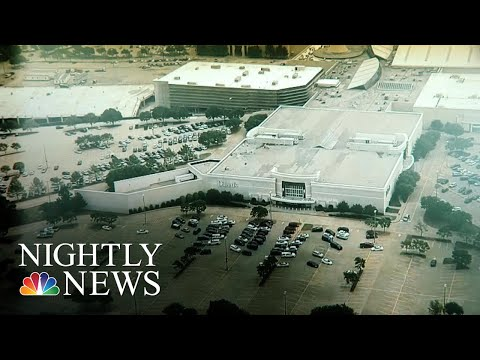 Teen Arrested For Plotting Mass Shooting At Texas Mall   NBC Nightly News