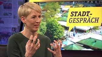 Stadtgespräch - Grünen-OB-Kandidatin Katrin Habenschaden