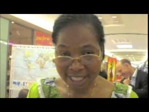 Kulturelle Vielfalt: Frau Koko N´Diabi Affo-Tenin