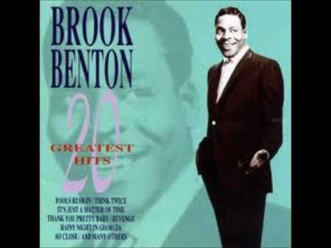 "Brook Benton   ""It's Just A Matter Of Time"""