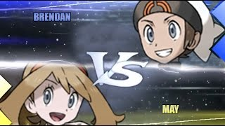 Pokemon Omega Ruby & Alpha Sapphire [ORAS]: Brendan Vs May