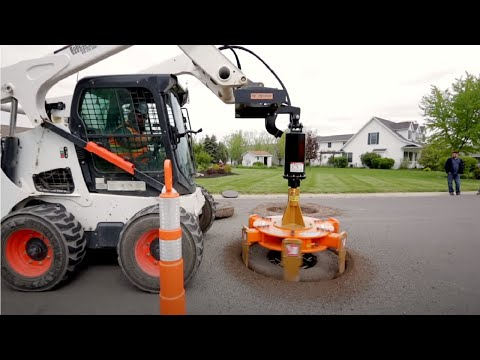 Amazing Fastest Skill Road Paving Machine Working   Modern Road Construction Machines