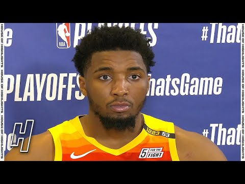 Download Donovan Mitchell Postgame Interview - Game 2 - Clippers vs Jazz | 2021 NBA Playoffs