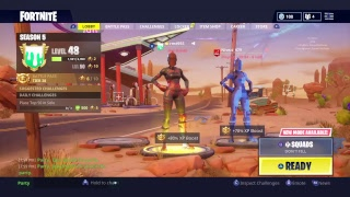 Fortnite Tournament// Getting Some Practice Before// 500+ Wins//