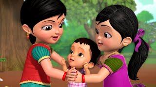 ஒரு குடம் தண்ணி ஊத்தி - Kids Play Song | Tamil Rhymes for Children | Infobells