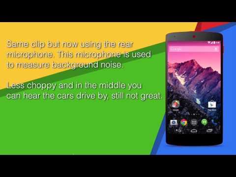 Nexus 5 sound problem when recording video
