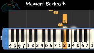 Download lagu Memori berkasih not pianika