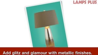 Glam Living Room Lighting - Incorporate The Unexpected