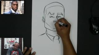 How to Draw 50 Cent - Twitch Recap