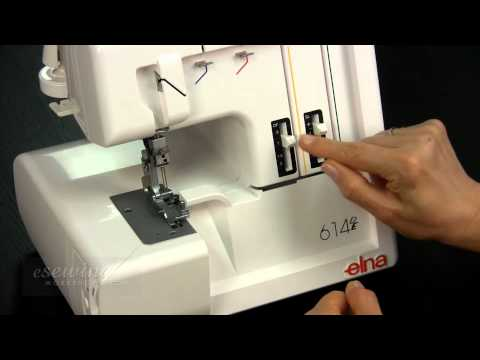 Overview - Elna Serger (Overlock) Sewing Machine (FREE SAMPLE)