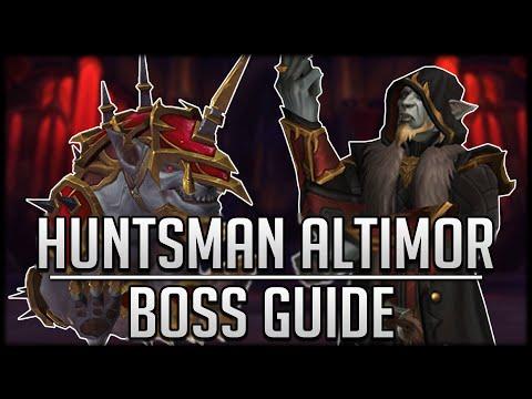 HUNTSMAN ALTIMOR FULL Boss Guide - Normal & Heroic Castle Nathria Raid Guide